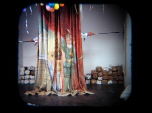 Cortezuma performing Double Portrait