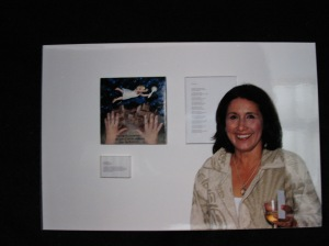 Museum of Latin American Art ex-voto student at exhibition 2002