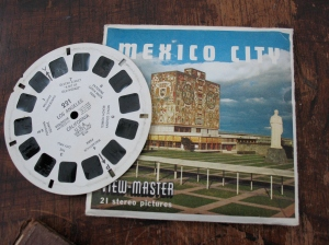 vintage View Master reel set of Mexico City