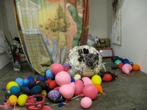 the studio aftermath of Double Portrait