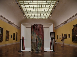 San Diego Museum of Art set up to perform Double Portrait